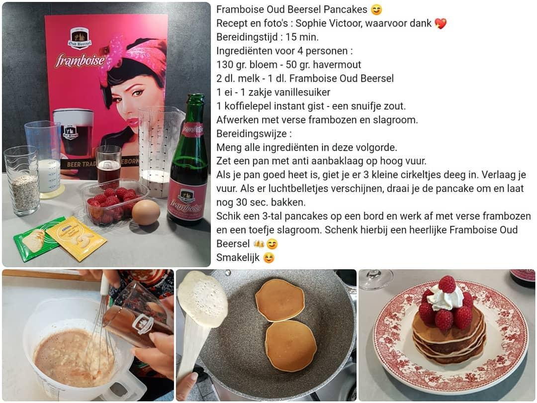 Bedankt @sophievictoor 🏻🏻 ...smakelijk iedereen !  Heb jij ook een lekker Framboise #bierrecept ? Deel het gerust met ons #kokkerellen #jeroenmeus #dagelijksekost #lambiek #lambic #gueuze #geuze #kriek #beerdesserts #kokenmetbier #bierdessert #dessertbeer #oudbeersel Met dank aan @sophievictoor #kokkerellen #jeroenmeus #dagelijksekost #lambiek #lambic #gueuze #geuze #kriek #beerdessert #kokenmetbier #oudbeersel #bierrecept